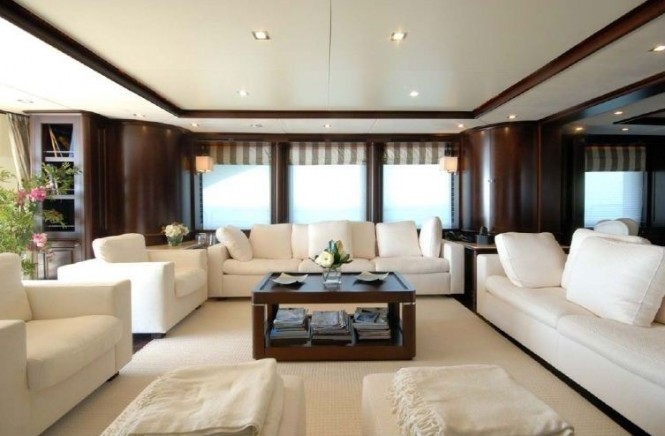 Benetti 122 Motor yacht -  Main Salon